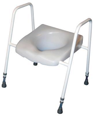 Raised Toilet Seat & Frame