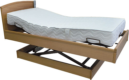 Comfort single bed (raised)