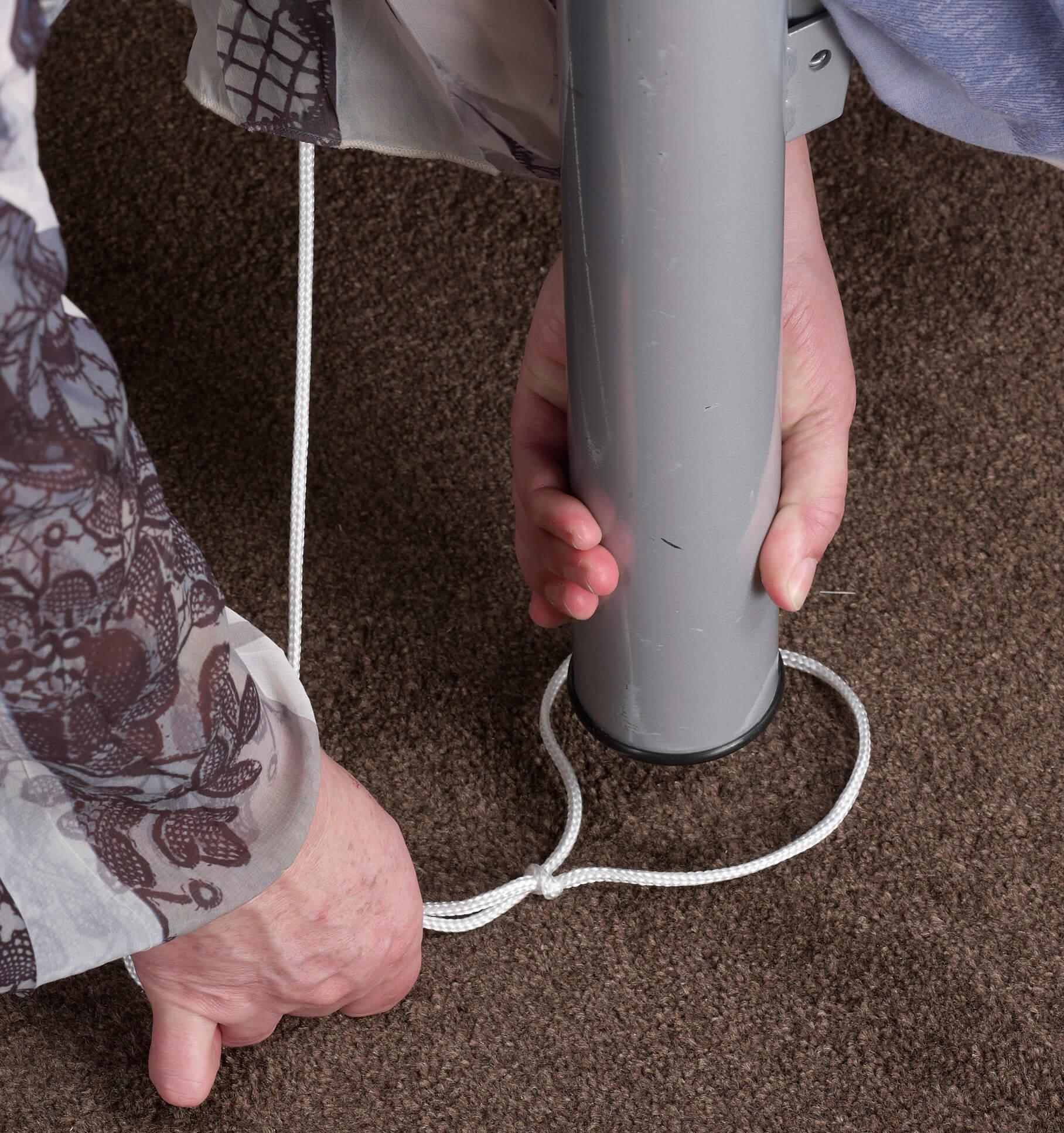 Securing Bed Rope Ladder