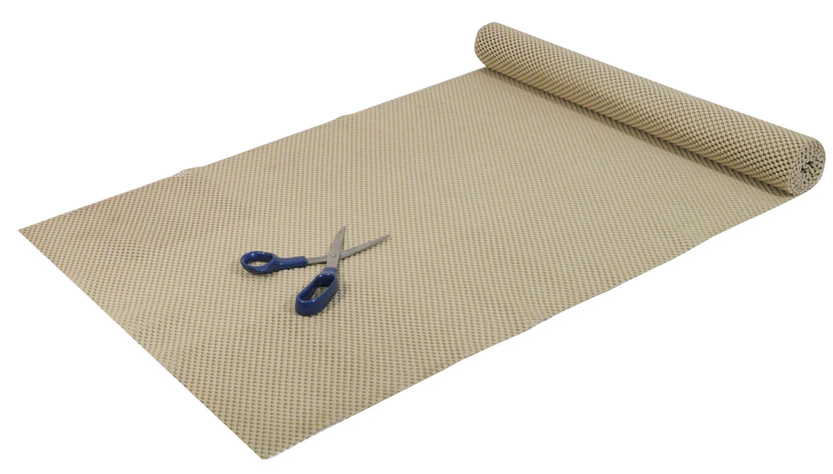 Beige Non-Slip Fabric