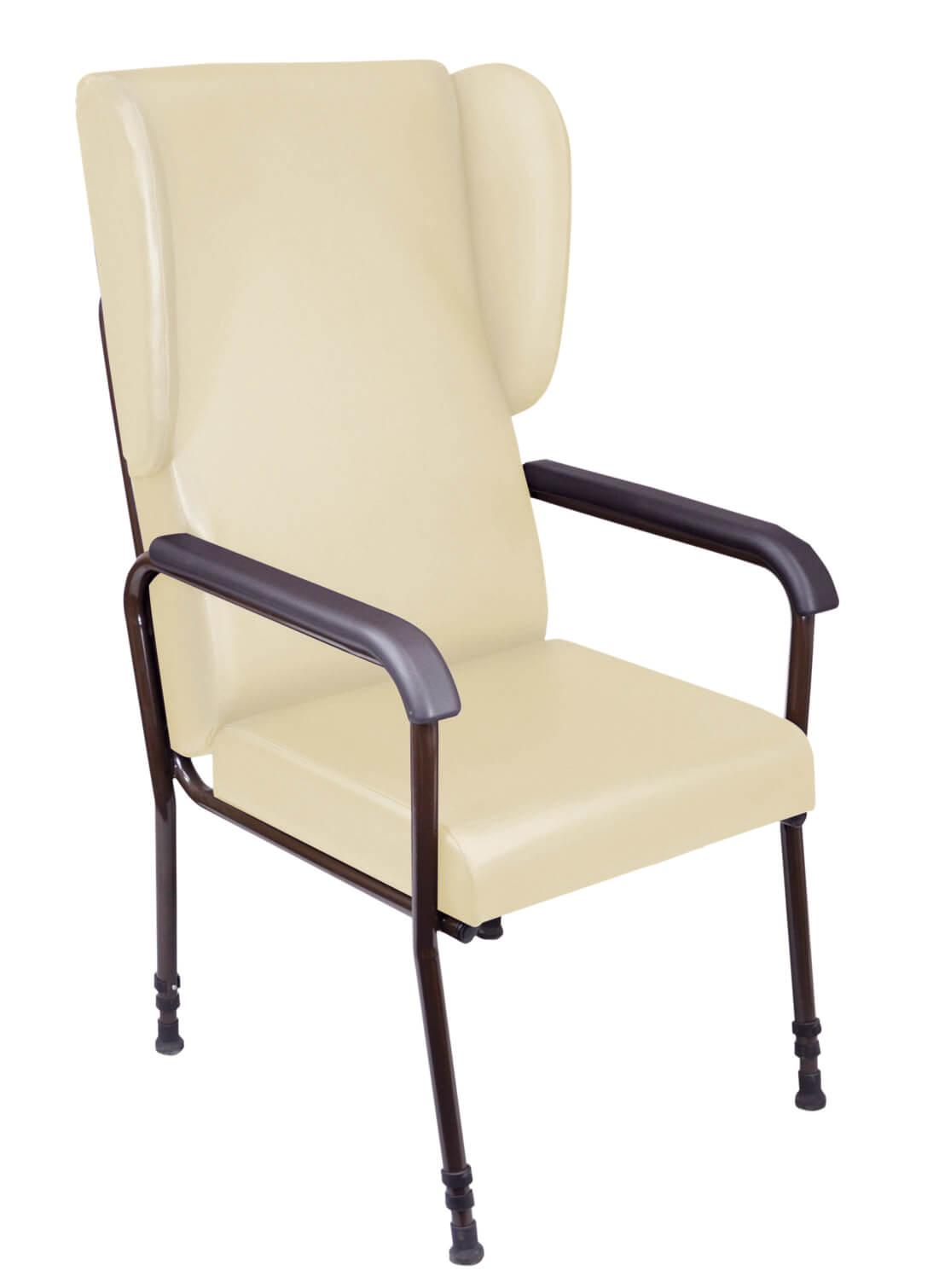 Cream Adjustable Chair