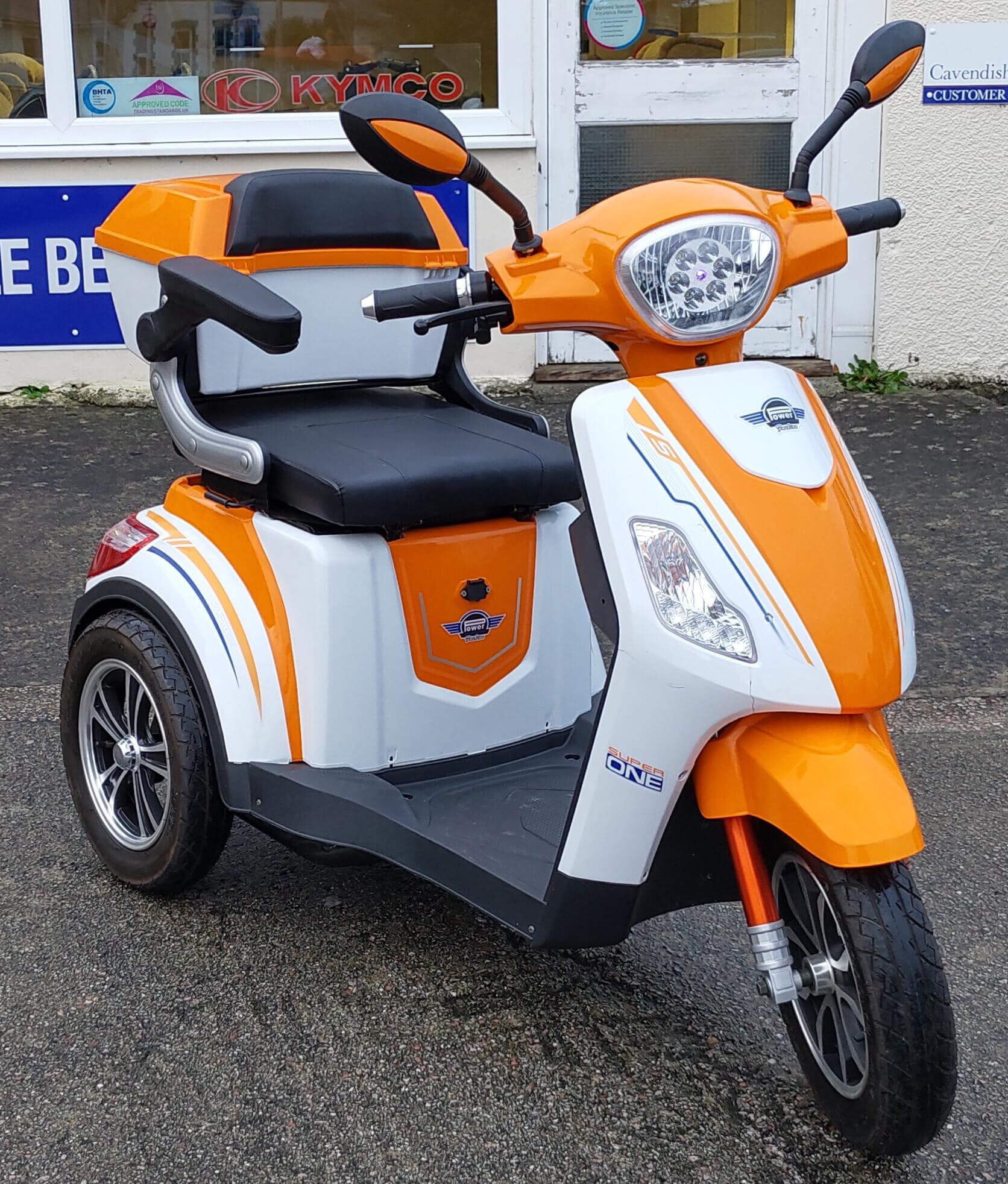 MBO Motorbike Scooter (Front)