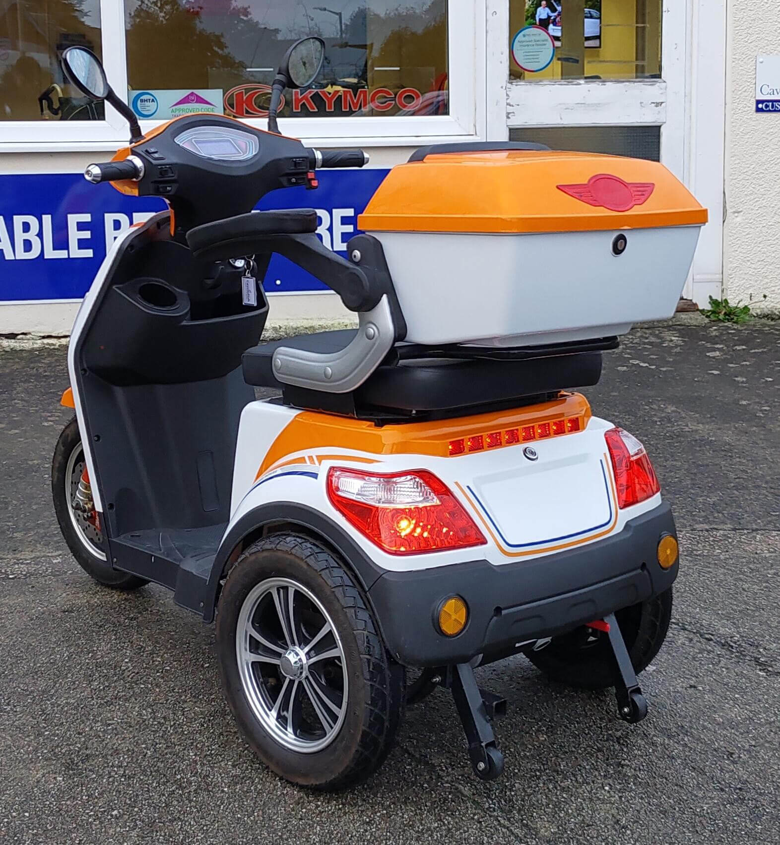 MBO Motorbike Scooter (Back)