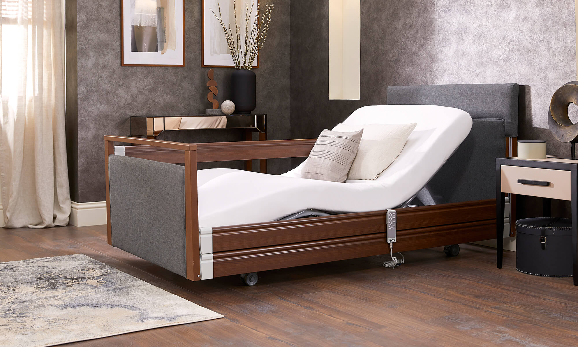 Opera Signature Upholstered Bed 3