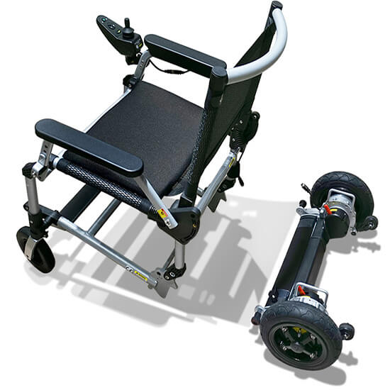 Joyrider folding powerchair