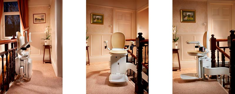 Brookes stairlift examples